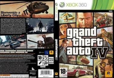 Generica Take-Two Interactive Grand Theft Auto IV, XBOX 360