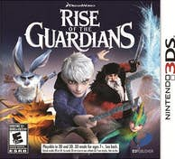 Generica Infogrames Rise of the Guardians, 3DS vídeo juego