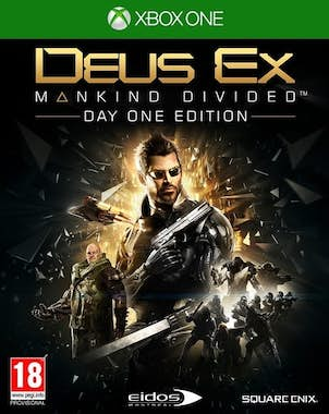 Generica Square Enix Deus Ex: Mankind Divided Day One Editi