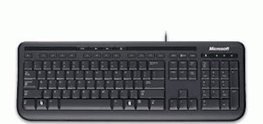Microsoft Microsoft Wired Keyboard 600, Black teclado USB Ne