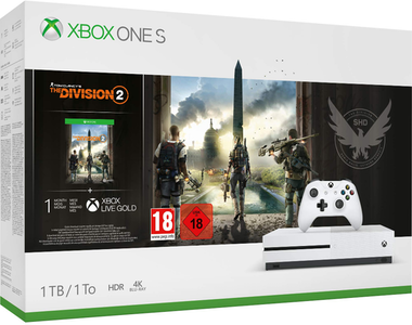 Microsoft Microsoft Xbox One S + Tom Clancy's The Division 2