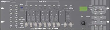 Generica HQ Power 192-channel DMX controller with joystick