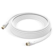 LinQ Antena de cable TV Macho/Hembra Coxial 9.5 mm PVC
