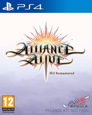 Bandai THE ALLIANCE ALIVE HD REMASTER D1/PS4