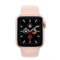 Apple Watch Series 5 GPS 40 mm aluminio dorado correa deportiva rosa arena