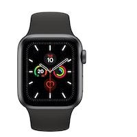 Apple Watch Series 5 GPS 40 mm aluminio gris espacial correa deportiva negro