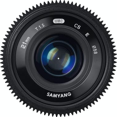 Samyang Samyang 21mm T1.5 ED AS UMC CS MILC Objetivo ancho