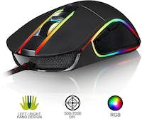 KLIM KLIM AIM Ratón Gaming Chroma RGB - Cable USB Perso