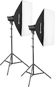 Bresser KIT FLASH DE ESTUDIO 200W 5700K BRT-200