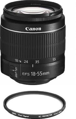 Canon CANON EF-S 18-55mm F3.5-5.6 III + HOYA 58mm PRO 1D