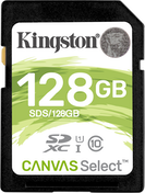 Kingston Technology SDXC 128GB Canvas Select
