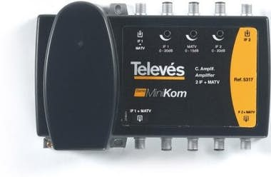 Televes Central TV 2E/2S RETORNO VHF-UHF-FI MiniKom