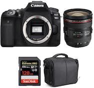 Canon EOS 90D + EF 24-70mm f/4L IS USM + SanDisk 128GB E