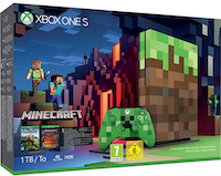 Microsoft Xbox One S 1TB + Minecraft Limited Edition