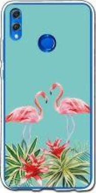 German Tech Funda gel Honor 8X - German Tech Verano Flamingo