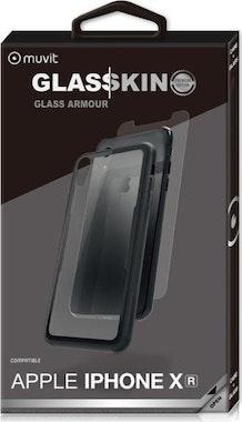 dff78079074 Comprar muvit pack Skin Apple iPhone XR carcasa vidrio templado ...