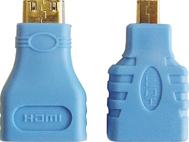 Ebox Cable HDMI con adaptador Micro y Mini HDMI, 1,5 M
