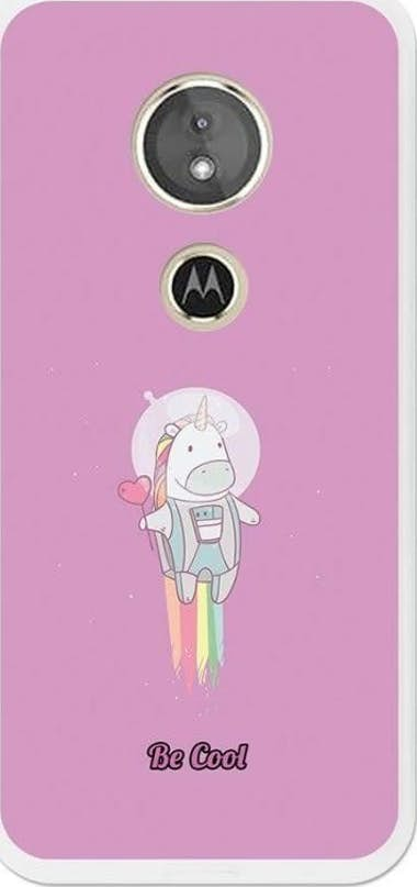 BeCool BeCool Funda Gel Motorola Moto G6 Play Unicornio E