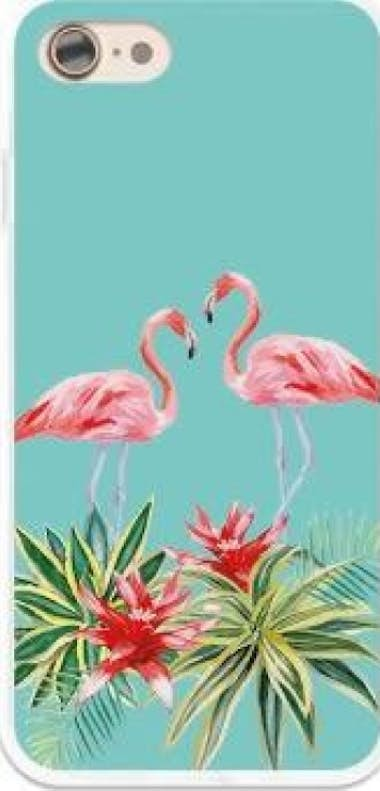 German Tech German Tech Funda Gel iPhone 7 - 8 Verano Flamingo