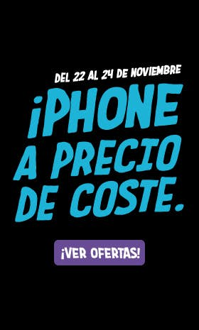 Adelántate al Black Friday! iPhone a coste