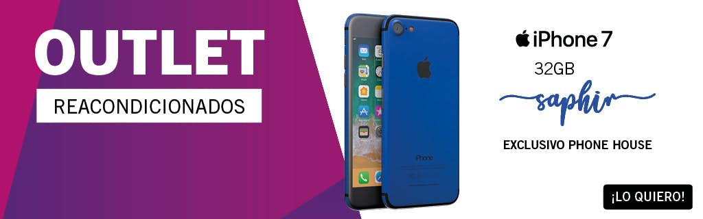iPhone 7 Saphir Outlet - Exclusivo Phone House