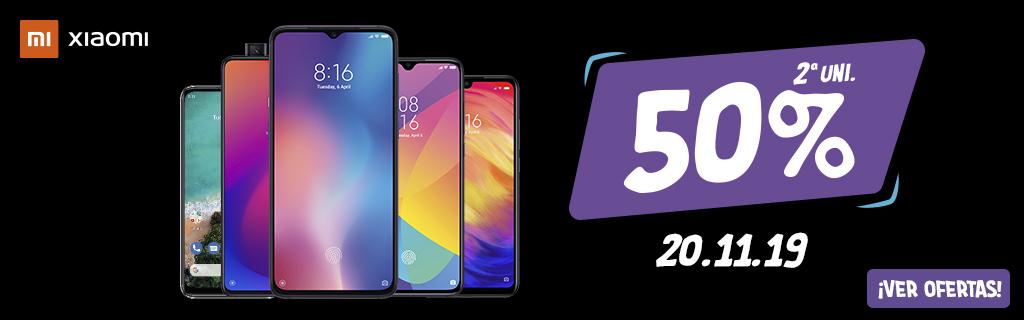 Adelántate al Black Friday - Xiaomi 50% 2ª unidad