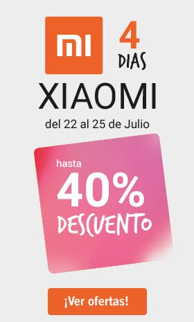 4 Días Xiaomi - Phone House