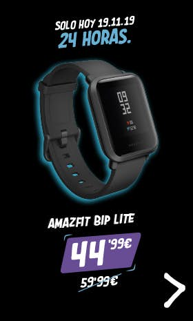 Adelántate al Black Friday! Oferta Flash Amazfit