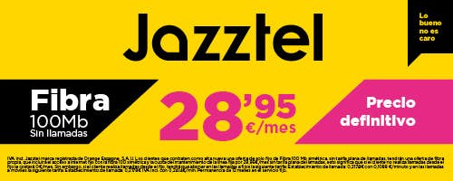Jazztel Fibra | Phone House