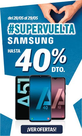 Supervuelta Samsung - Phone House