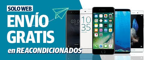 Reacondicionados envío gratis | Phone House
