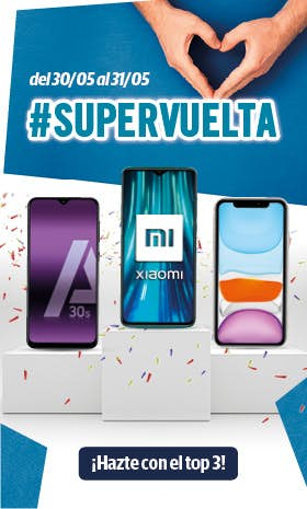 Supervuelta top 3 - Phone House