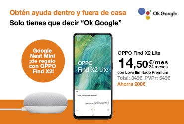 Google Nest Mini de regalo