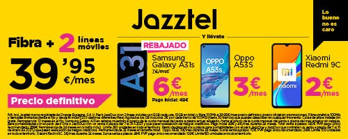 Jazztel Duo | Phone House