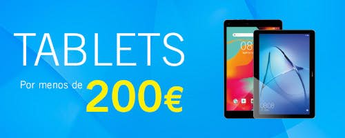 Tablets por menos de 200€ - Phone House